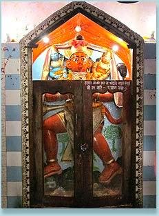 Hanuman Temple at Pahari Temple
