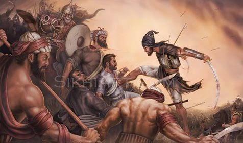 Battle of Chamkaur story in Hindi